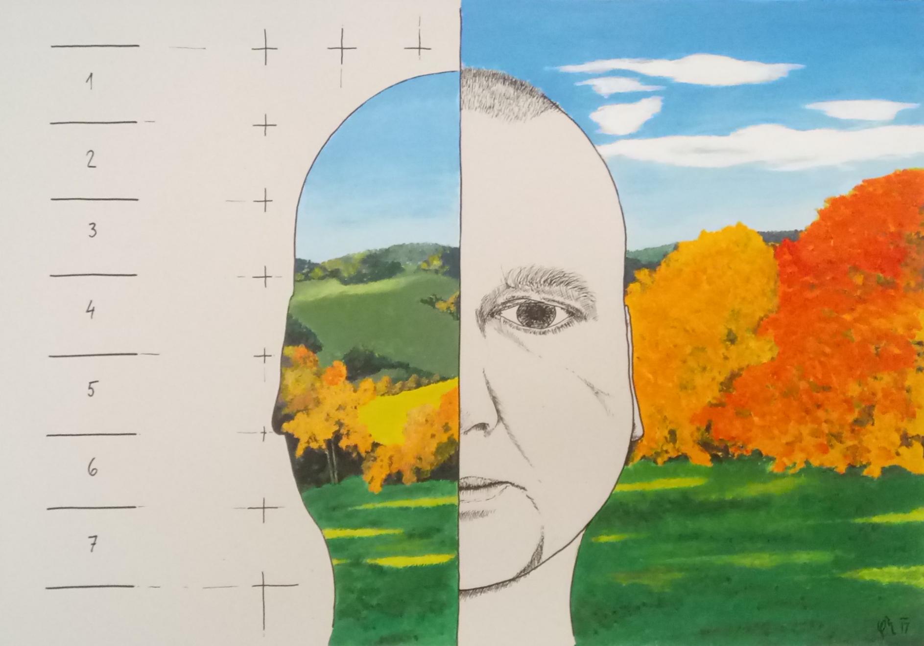 Ja Portret A Krajina Artwork Gallery